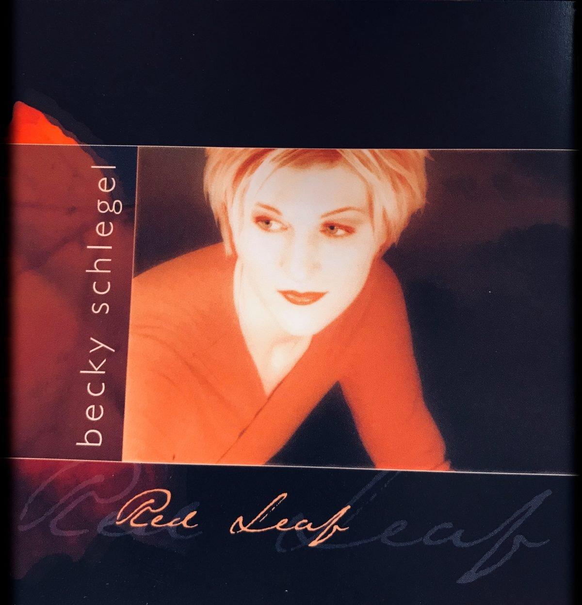 Becky Schlegel - Red Leaf Album Art