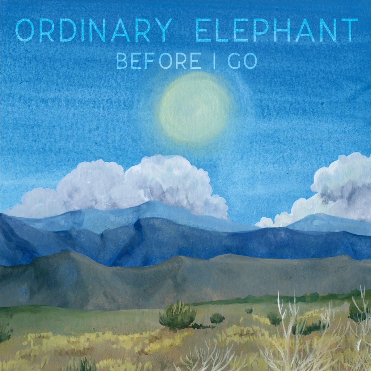 Ordinary Elephant - Before I Go Album Art
